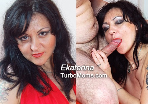 Aged russian woman Ekaterina sex video