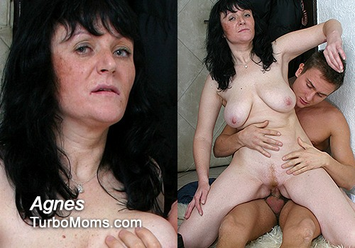 amateur old - Big tits lady Agnes amateur porn video