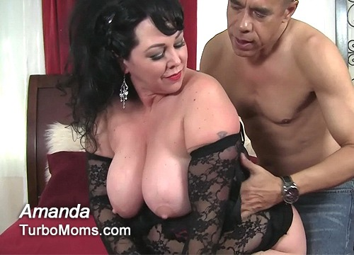 Busty plumper cougar adult video in HD